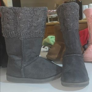 Girls size 10 fabkids boots